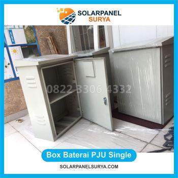 pabrikasi Box Panel PJU Tenaga Surya