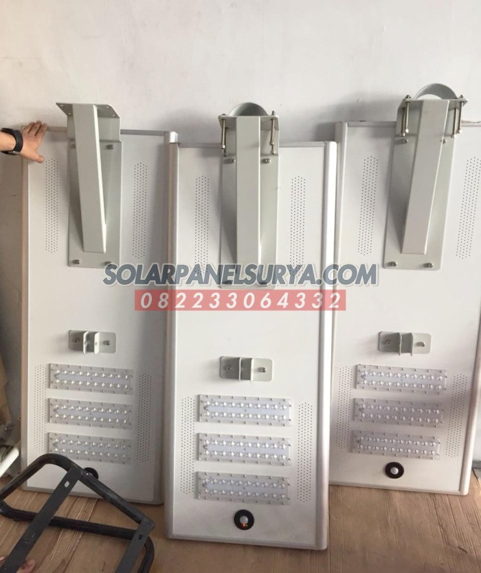 Distributor Lampu Jalan PJU Solar Cell All In One