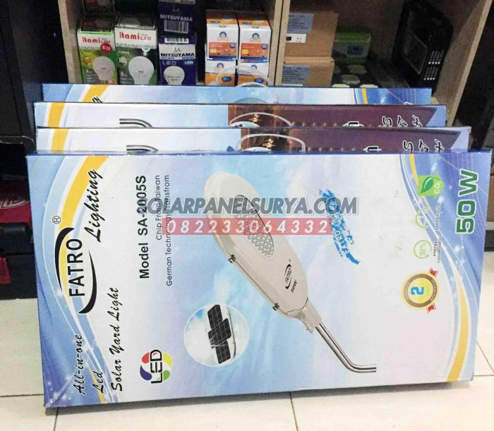 Distributor Lampu PJU Solar Cell All In On Fatro