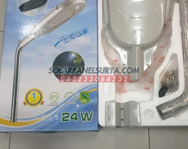 Distributor lampu jalan pju fatro all in one 24 watt aio 24w