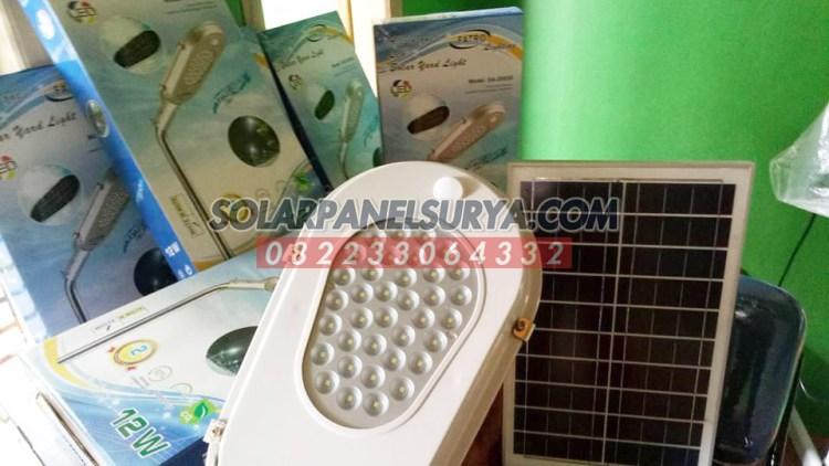 Jual Lampu Jalan Tenaga Surya All In One Fatro 12 watt Murah Bergaransi