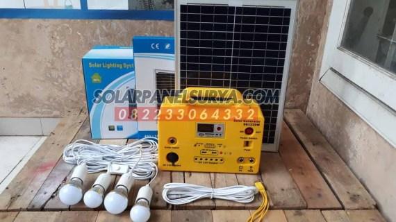 Lampu Sehen Tenaga Surya | Paket Sehen Solar kit SHS Mini
