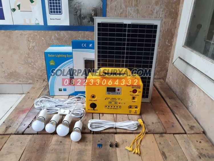 jual Lampu Sehen Tenaga Surya Paket Sehen Solar kit SHS Mini