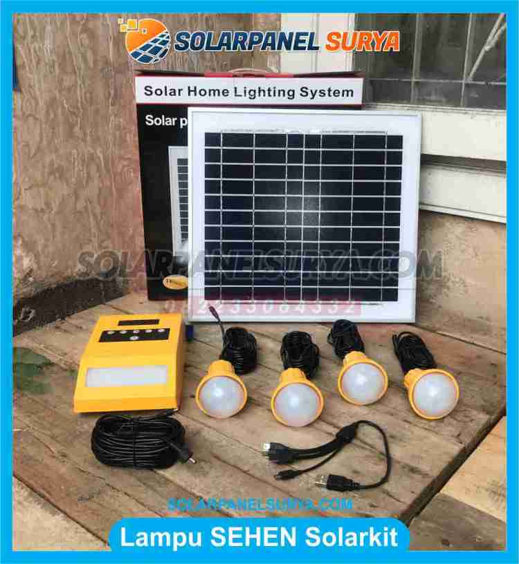 Lampu Sehen Solarkit Powerpack 5.2