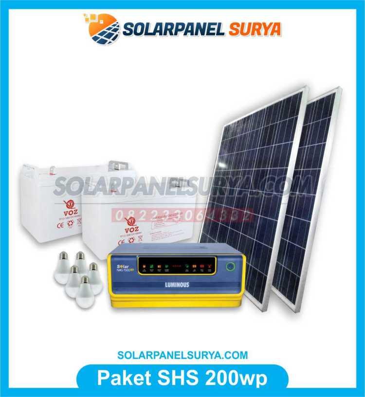 SHS Tenaga Surya 1200 watt