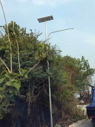 lampu jalan pju tenaga surya