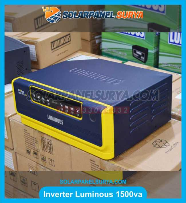 jual Inverter Hybrid Sine Wave Inverter Luminous 1500va