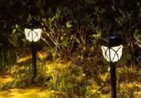 Садовый фонарь на солнечных батареях Garden MOON