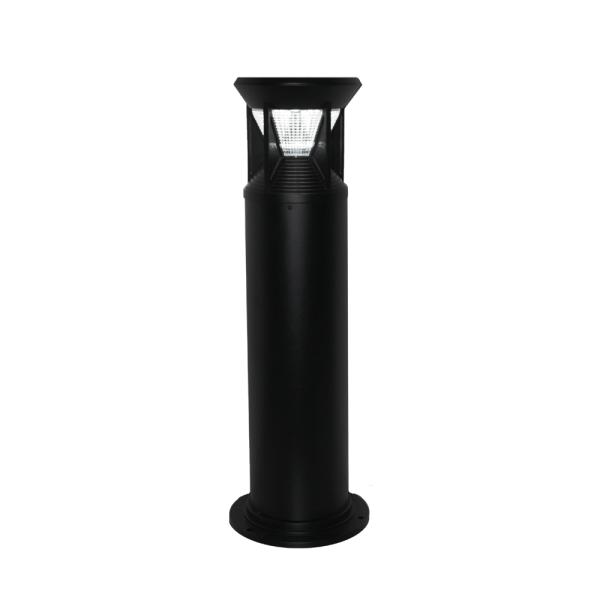 Industrial Bollard Light - Black