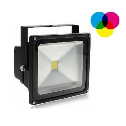 30w Solar RGB LED Flood Light/Uplighter