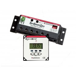 Sunsaver Duo Two Battery Solar Controller 12V 25A, With Meter