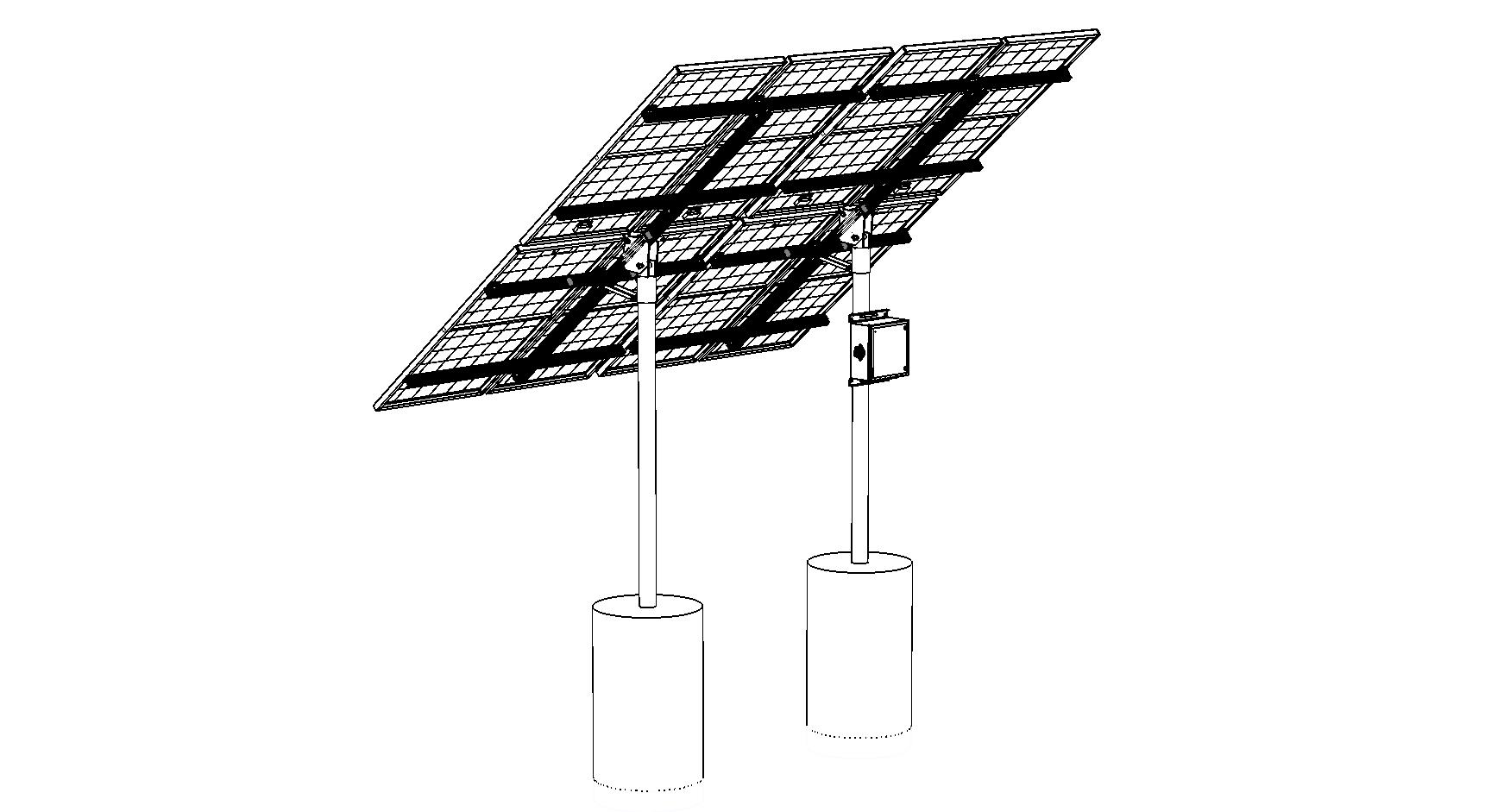 15hp Crude Solar System