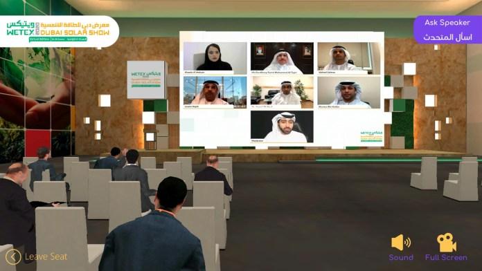 Virtual WETEX & Dubai Solar Show Promise Unique Experience For International Exhibitors Using The Latest Global Technologies