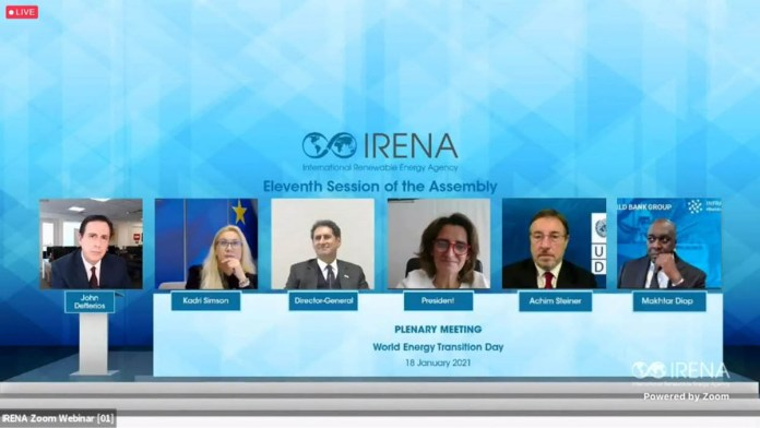 IRENA Members Endorse Launch Of Global High-Level Forum On Energy Transition