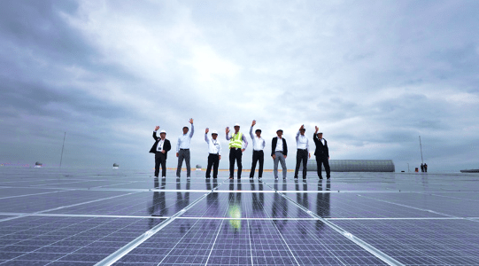 UNICHARM Thailand and SYMBIOR Solar Successfully Starts Commercial Operation of 6MWp Solar PV Project