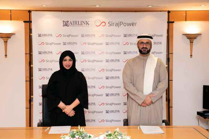 SirajPower Signs 1.3 MWp Solar Deal with Airlink International UAE