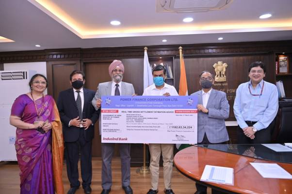 PFC Pays Interim Dividend of Rs 1,182.63 Cr to Govt for 2020-21