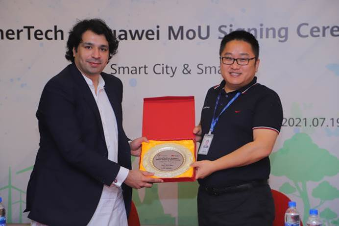 Huawei Pakistan and Enertech Kuwait Signed MoU To Promote The Development Of Eco-Friendly Smart Tourist Destinations and Solar Power Plants