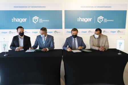 Sharjah Sustainable City & Hager Group Partners For Pilot Energy Storage Solutions