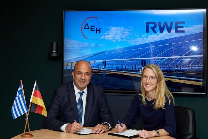 RWE And PPC Partners To Develop 2 GW Solar Projects In Greece