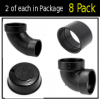 Solar Roof Jack Elbow Pack