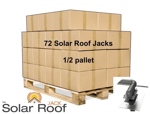 Solar Roof jack Half Pallet