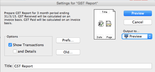 GST Report Wizard