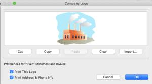 Change company logo