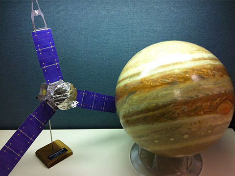 Juno Spacecraft Paper Model NASA Solar System Exploration