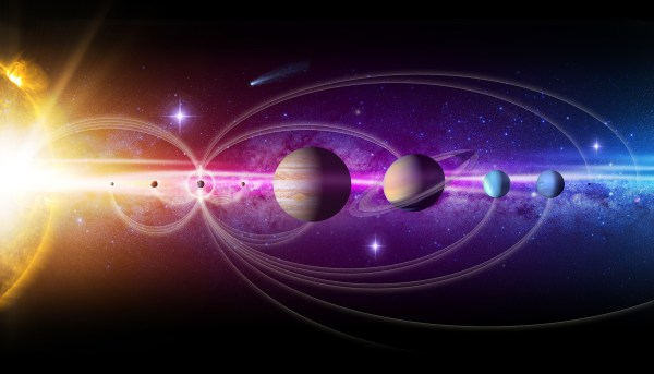 Artist's Concept: Our Solar System   Solar System ...