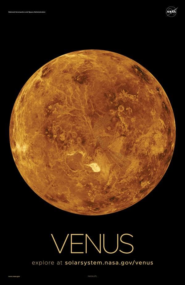 Venus Poster - Version A | NASA Solar System Exploration