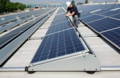 solar power rooftop installation mounting tracking system Esdec