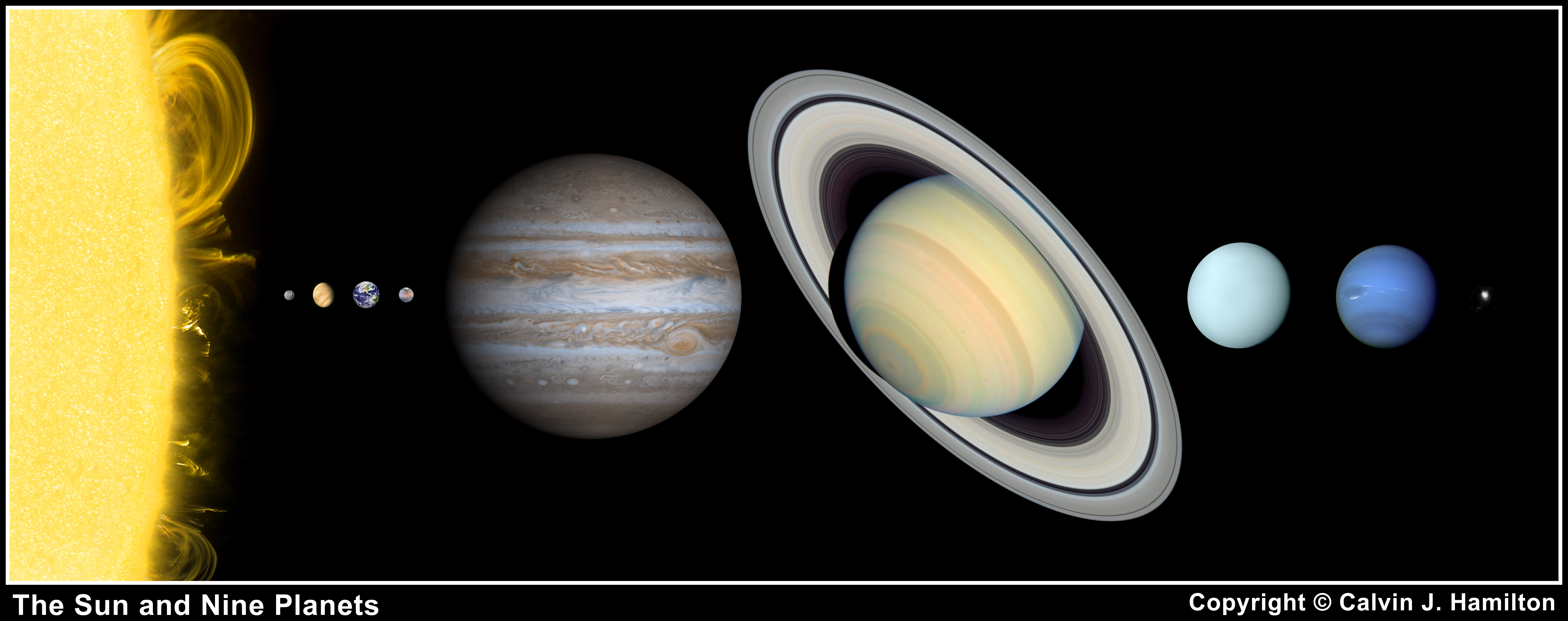 Our Solar System Planets In Order From The Sun