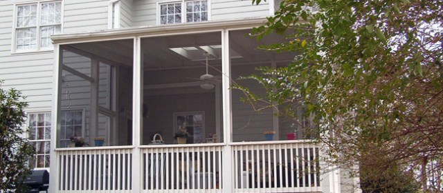 Large Screen Porch