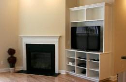 Entertainment Unit & Closet/Pantry Built-Ins