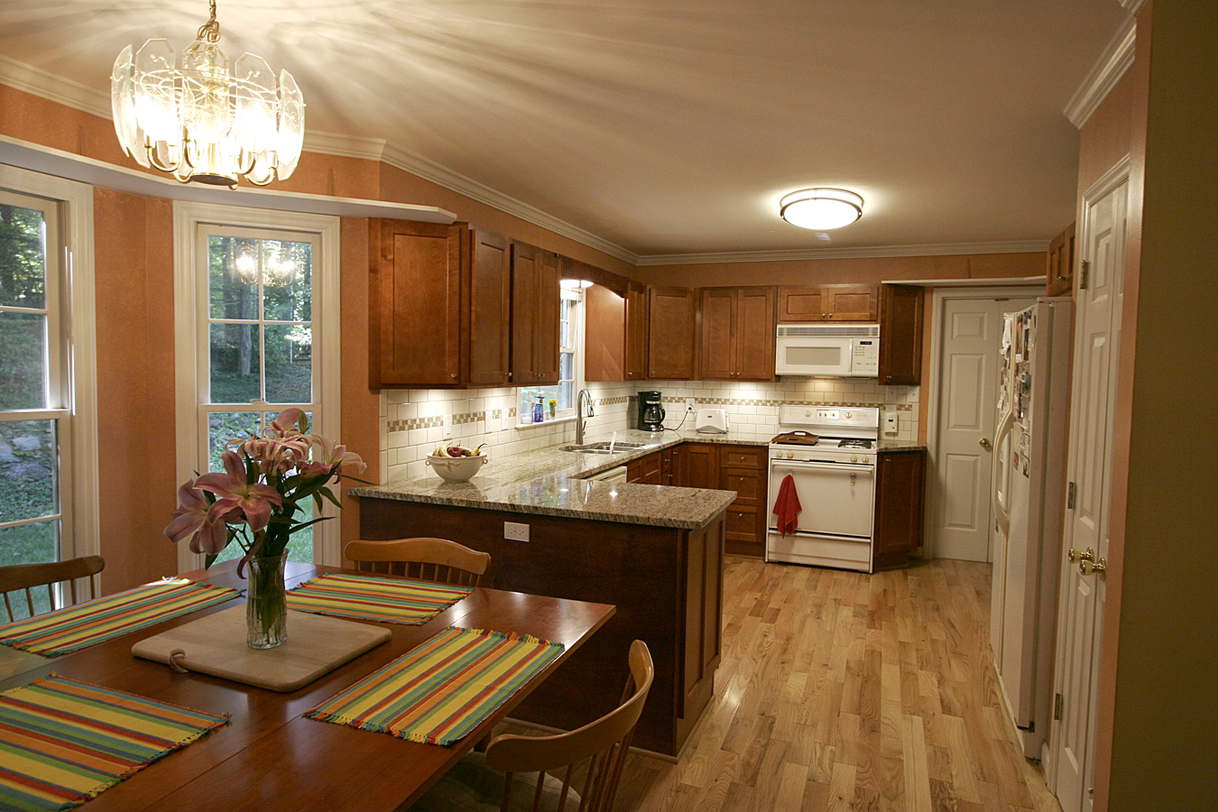 Kitchen Remodel With An Unusual Mission Solar Wind Designs