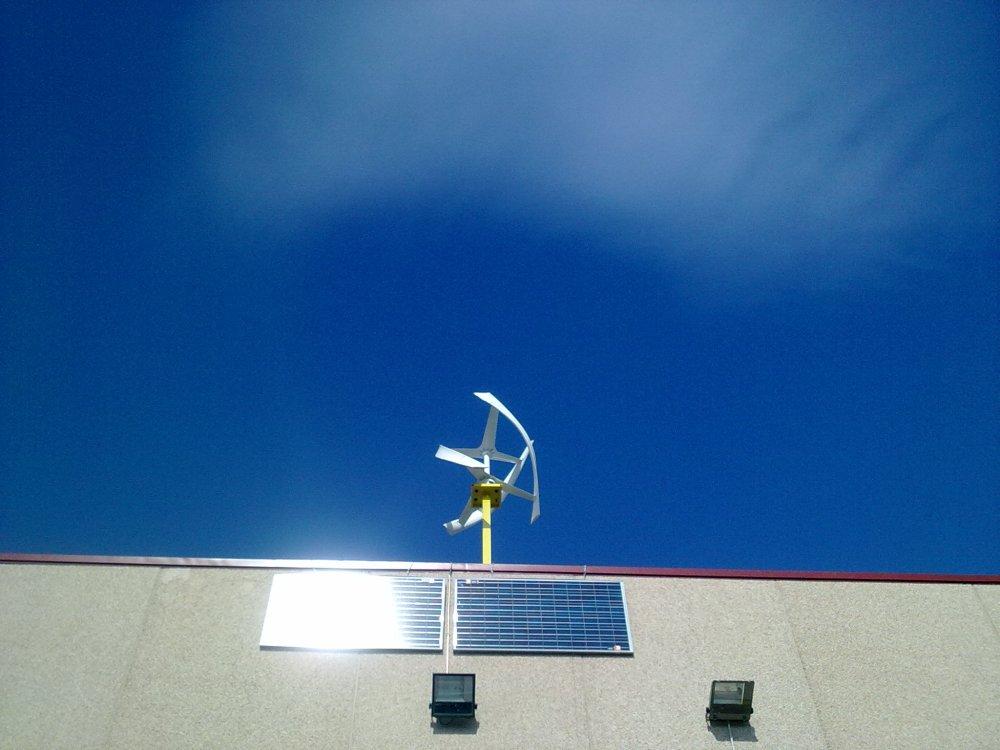 ORDIS SOSTENIBLE,YA PRODUCE ENERGIA ,CON VIENTO DEL EMPORDÀ 2ªParte. (5/6)