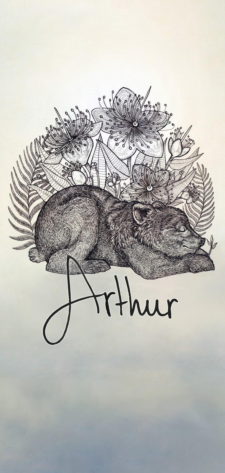 Birthcard_Arthur_Atelier_Solawende