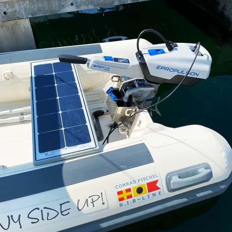 Dinghy Pischel Rib-Line EPropulsion Spirit 1.0 Plus Solbian Solar