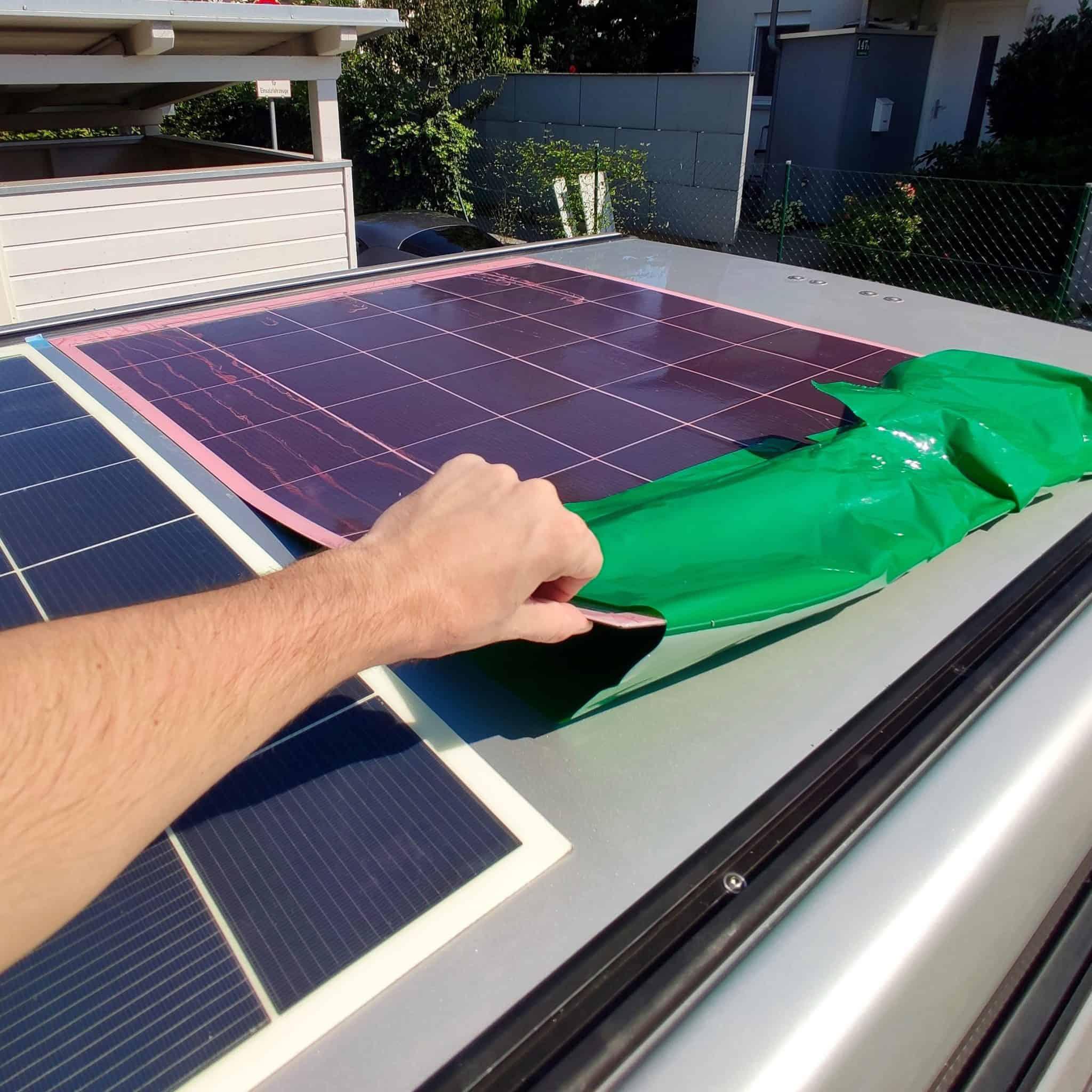 Solbian Solar Ford Nugget Aufstelldach Solaranlage