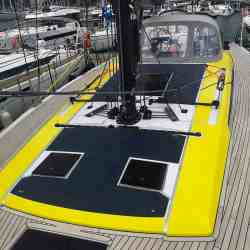Grand Soleil 48 solar panel deck walkable Solbian