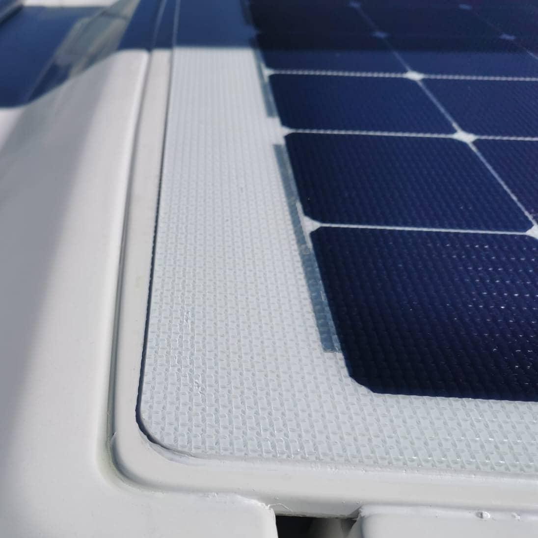 Hanse 531 companionway hatch deck solar panel solbian