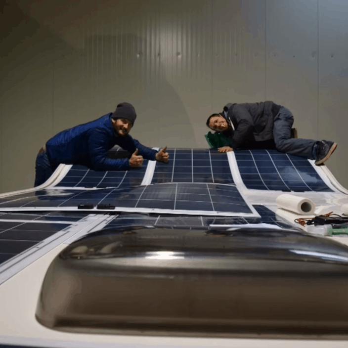 Solbian solar caravan vegan cook energy independent
