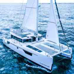 Windelo 50 adventure Solbian Solar Solaranlage nachhaltig Katamaran Segelkatamaran