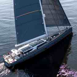 Baltic 146 PATH superyacht Solbian solar photovoltaik largest in the world walkable custom-made bespoke yacht sailing