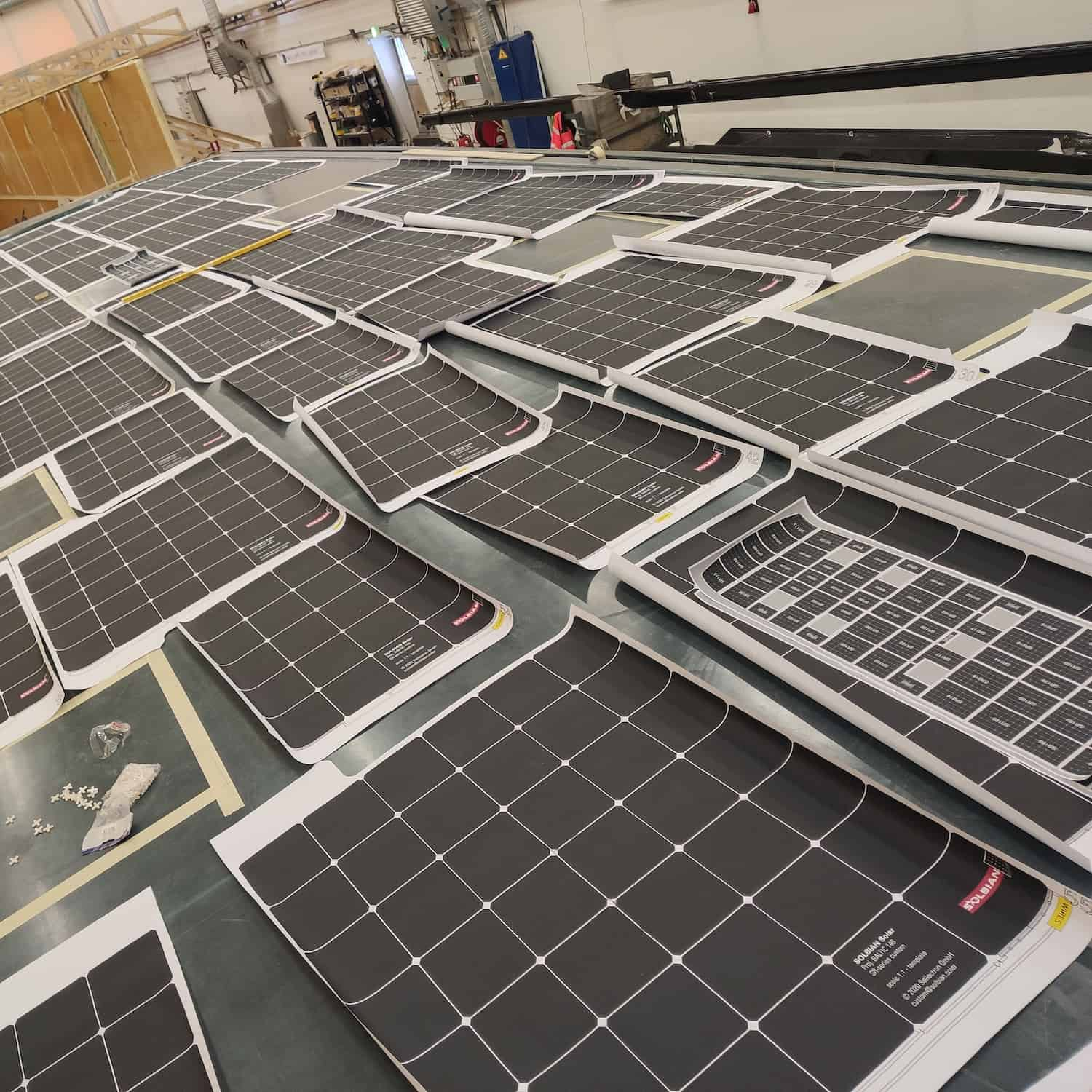 Baltic 146 PATH superyacht Solbian solar photovoltaik largest in the world walkable custom-made bespoke yacht sailing templates