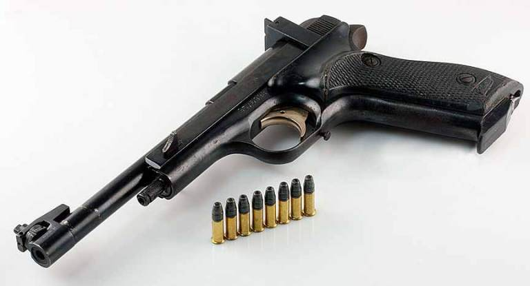 Пистолет МЦМ Марголин