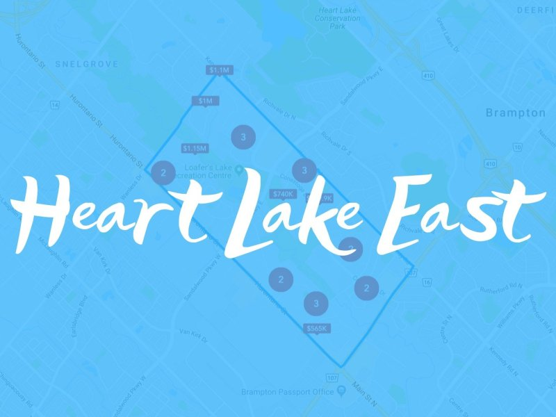 Heart Lake East Neighbourhood Properties for Sale