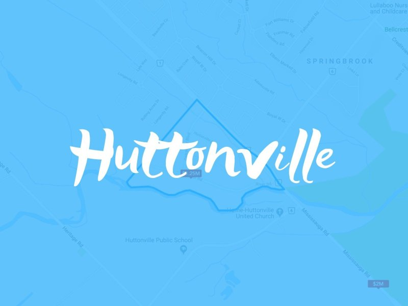 Huttonville Neighbourhood Properties for Sale