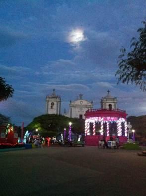 Central park of Rivas